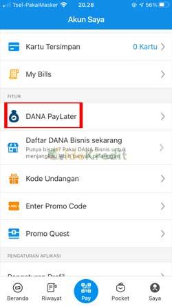 Pilih Dana Paylater 1