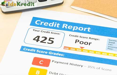 Skor Kredit Menurun