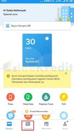 Buka Aplikasi Kredivo