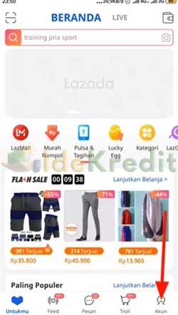 Buka Aplikasi Lazada 2