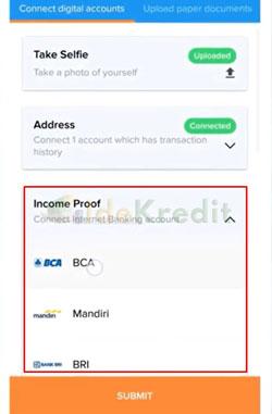 Hubungkan Akun Internet Banking