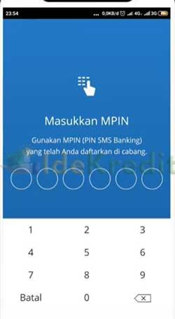 Masukkan PIN Mandiri Online