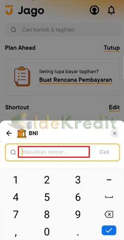 Pilih Bank BNI