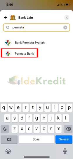 Pilih Bank Lain 1