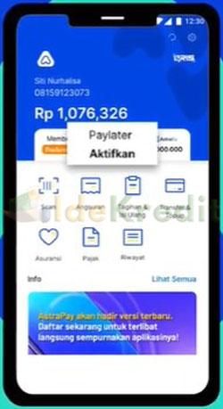 Buka Aplikasi AstraPay