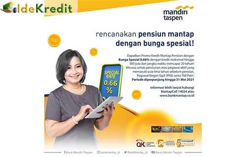 Kredit Mantap Pensiun Mandiri Taspen