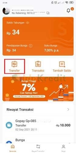 Masuk Aplikasi SeaBank