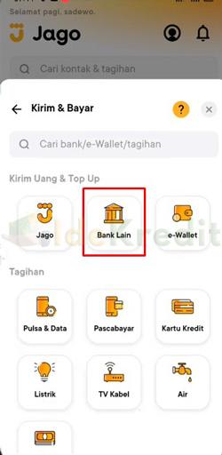 Pilih Bank Lain 2