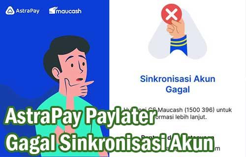 AstraPay Paylater Gagal Sinkronisasi Akun