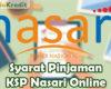 Syarat Pinjaman KSP Nasari Online